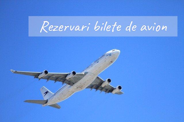 rezervari bilete de avion